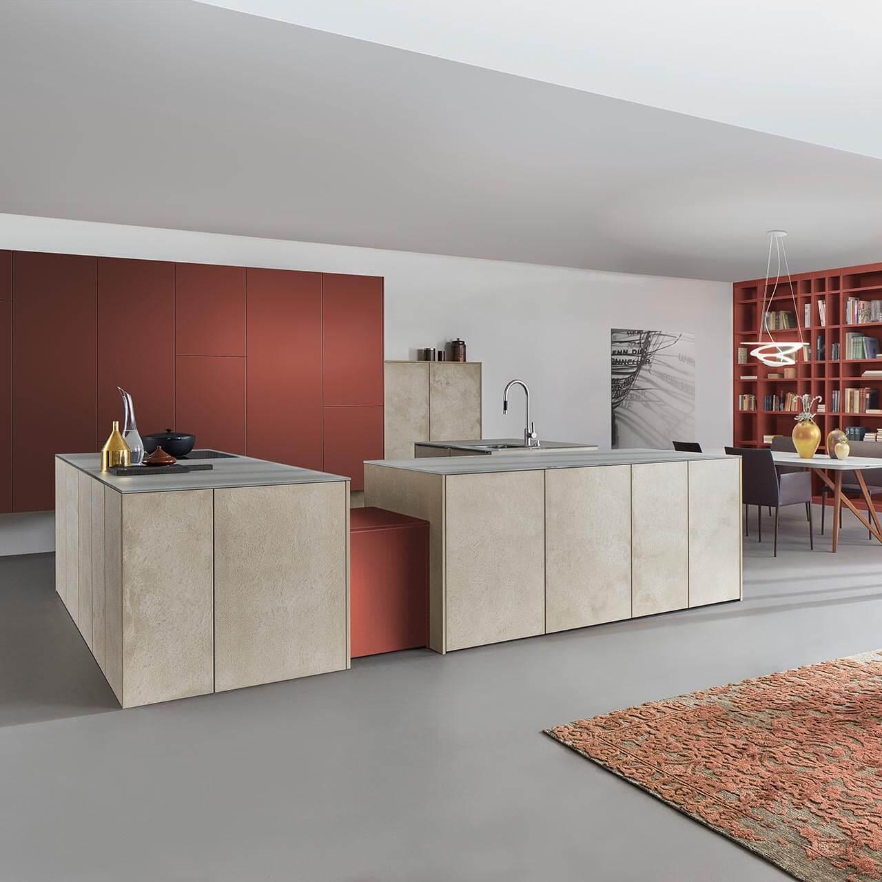 Leicht Kueche Les Corbusier Farben